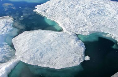 Close Up Icebergs