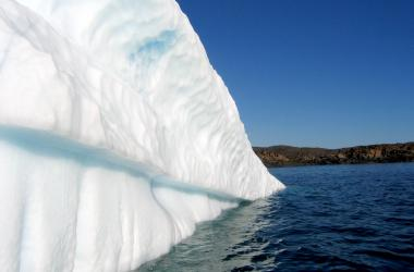 partial iceberg from the side