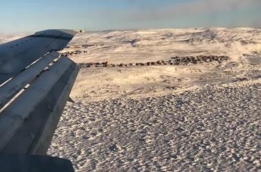 Apex-Airport landing view